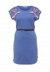 Купить Платье Sela синий SE001EWQXF63 Китай