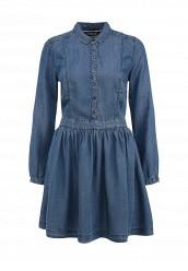 Купить Платье джинсовое Tommy Hilfiger Denim синий TO013EWGZD78 Китай