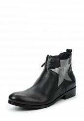 Купить Ботинки Tommy Hilfiger черный TO263AWTPO51