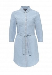 Купить Платье джинсовое Tommy Hilfiger голубой TO263EWOLP33 Индонезия