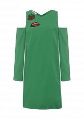 Купить Платье Tutto Bene зеленый TU009EWRXQ32 Россия