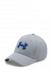 Купить Бейсболка Under Armour UA Blitzing II Stretch Fit Cap серый UN001CMTVR33 Китай