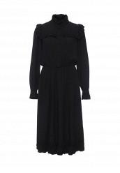 Купить Платье Vika Smolyanitskaya черный VI043EWPMQ27