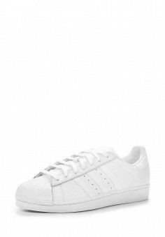 Кеды, adidas Originals, цвет: белый. Артикул: AD093AUFLX75. Женская обувь / Кроссовки и кеды