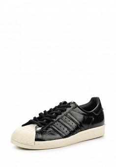 Кеды, adidas Originals, цвет: черный. Артикул: AD093AWQIS86. Женская обувь / Кроссовки и кеды