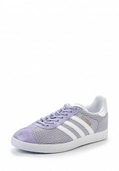 Кеды, adidas Originals, цвет: фиолетовый. Артикул: AD093AWQIT25. Женская обувь / Кроссовки и кеды