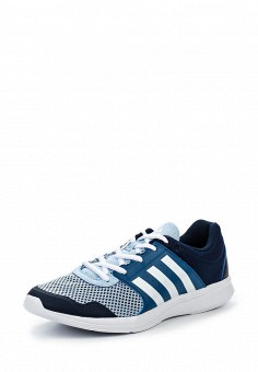 Кроссовки, adidas Performance, цвет: синий. Артикул: AD094AWQIK29. Женская обувь / Кроссовки и кеды