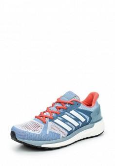 Кроссовки, adidas Performance, цвет: голубой. Артикул: AD094AWQIK43. Женская обувь / Кроссовки и кеды