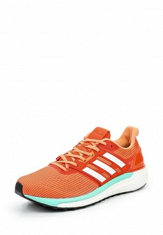 Кроссовки, adidas Performance, цвет: оранжевый. Артикул: AD094AWQIK59. Женская обувь / Кроссовки и кеды