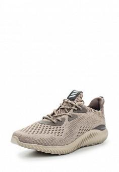 Кроссовки, adidas Performance, цвет: бежевый. Артикул: AD094AWQIK62. Женская обувь / Кроссовки и кеды