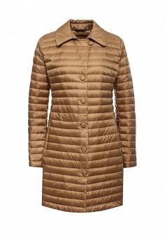 Пуховик, Add, цвет: коричневый. Артикул: AD504EWQIP38. Премиум / Одежда / Верхняя одежда / Пуховики и зимние куртки
