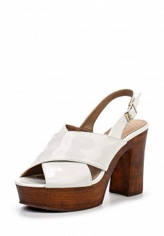 Босоножки, Alesya, цвет: белый. Артикул: AL048AWQEJ61. Женская обувь / Босоножки