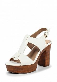 Босоножки, Alesya, цвет: белый. Артикул: AL048AWQEJ62. Женская обувь / Босоножки