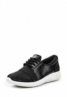 Кроссовки, Anesia, цвет: черный. Артикул: AN045AWPYN88. Женская обувь / Кроссовки и кеды / Кроссовки