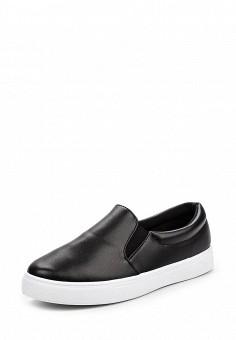 Слипоны, Angelo Milano, цвет: черный. Артикул: AN053AWQQA17. Женская обувь