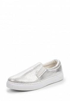 Слипоны, Angelo Milano, цвет: серебряный. Артикул: AN053AWQQA20. Женская обувь