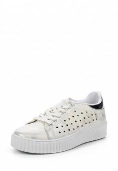 Кеды, Angelo Milano, цвет: белый. Артикул: AN053AWRZY33. Женская обувь