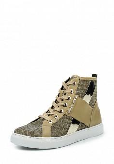 Кеды, Armani Jeans, цвет: золотой. Артикул: AR411AWPWC46. Премиум / Обувь