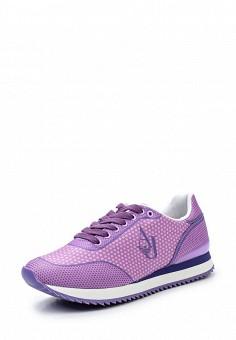 Кроссовки, Armani Jeans, цвет: фиолетовый. Артикул: AR411AWPWC49. Премиум / Обувь