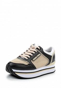 Кроссовки, Armani Jeans, цвет: бежевый. Артикул: AR411AWPWC54. Премиум / Обувь