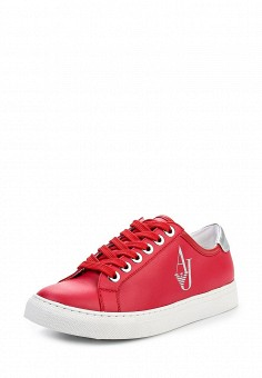 Кеды, Armani Jeans, цвет: красный. Артикул: AR411AWPWC74. Премиум / Обувь
