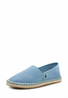 Эспадрильи, Armani Jeans, цвет: голубой. Артикул: AR411AWPWC88. Премиум / Обувь