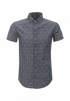 Рубашка, Armani Jeans, цвет: синий. Артикул: AR411EMOVT22. Мужская одежда / Рубашки