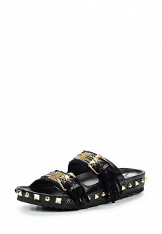 Шлепанцы, Ash, цвет: черный. Артикул: AS069AWQUP40. Женская обувь
