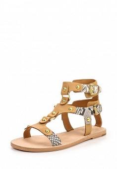 Сандалии, Ash, цвет: коричневый. Артикул: AS069AWQVZ55. Женская обувь