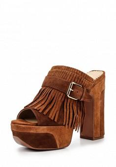 Сабо, Ash, цвет: коричневый. Артикул: AS069AWQVZ73. Женская обувь