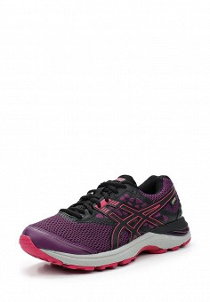 Кроссовки, ASICS, цвет: фиолетовый. Артикул: AS455AWUMF42. Женская обувь / Кроссовки и кеды