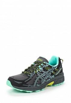 Кроссовки, ASICS, цвет: черный. Артикул: AS455AWUMF91. Женская обувь / Кроссовки и кеды