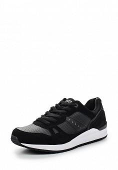 Кроссовки, Ascot, цвет: черный. Артикул: AS821AMSFM63. Мужская обувь / Кроссовки и кеды / Кроссовки
