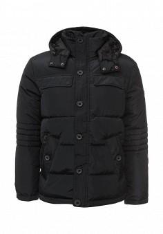 Пуховик, Baon, цвет: черный. Артикул: BA007EMLNS67. Мужская одежда / Верхняя одежда / Пуховики и зимние куртки