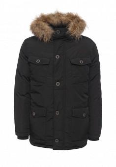 Пуховик, Baon, цвет: черный. Артикул: BA007EMLNS69. Мужская одежда / Верхняя одежда / Пуховики и зимние куртки