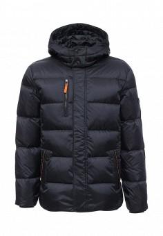 Пуховик, Baon, цвет: синий. Артикул: BA007EMLNS70. Мужская одежда / Верхняя одежда / Пуховики и зимние куртки