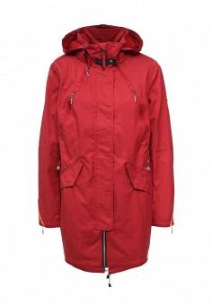 Парка, Baon, цвет: красный. Артикул: BA007EWQCL72. Женская одежда / Верхняя одежда / Парки