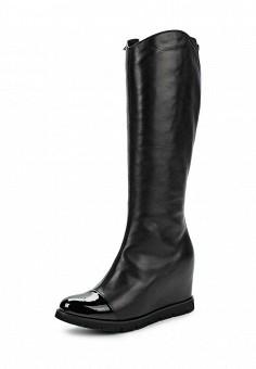 Сапоги, Baldinini, цвет: черный. Артикул: BA097AWJDV20. Женская обувь / Сапоги