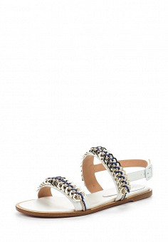 Сандалии, Baldinini, цвет: белый. Артикул: BA097AWPUX80. Женская обувь