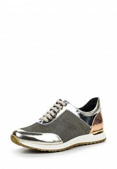 Кроссовки, Baldinini, цвет: золотой. Артикул: BA097AWPUY06. Премиум / Обувь / Кроссовки и кеды / Кроссовки