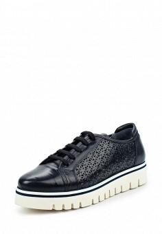 Ботинки, Baldinini, цвет: синий. Артикул: BA097AWPUY34. Женская обувь