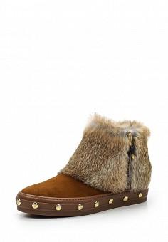 Ботинки, Baldinini, цвет: коричневый. Артикул: BA097AWTCB57. Женская обувь