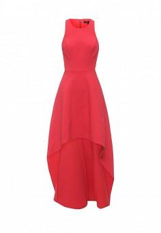 Платье, BCBGMaxAzria, цвет: красный. Артикул: BC529EWQBH75. Женская одежда / Платья и сарафаны / Вечерние платья