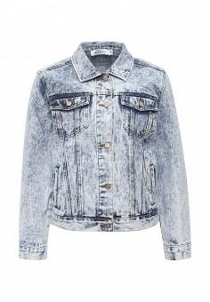 Куртка джинсовая, Befree, цвет: голубой. Артикул: BE031EWPKC82. Женская одежда / Тренды сезона / Летний деним / Джинсовые куртки