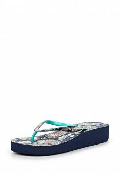 Шлепанцы, Beppi, цвет: бирюзовый. Артикул: BE099AWHSM05. Женская обувь / Шлепанцы и акваобувь