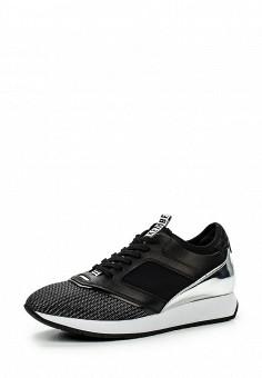Кроссовки, Bikkembergs, цвет: черно-белый. Артикул: BI535AWKKU65. Женщинам / Обувь / Кроссовки и кеды