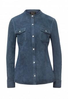 Рубашка, Blouson, цвет: синий. Артикул: BL033EWQGN26. Премиум