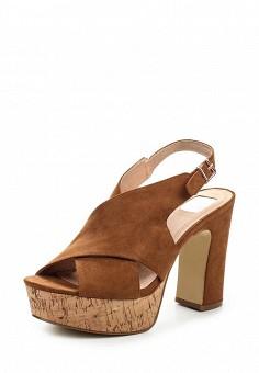 Босоножки, Bullboxer, цвет: коричневый. Артикул: BU470AWQDD33. Женская обувь / Босоножки
