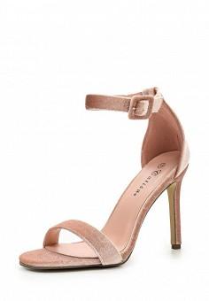 Босоножки, Catisa, цвет: бежевый. Артикул: CA072AWTFO51. Женская обувь / Босоножки