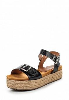 Босоножки, Catisa, цвет: черный. Артикул: CA072AWTFP10. Женская обувь / Босоножки